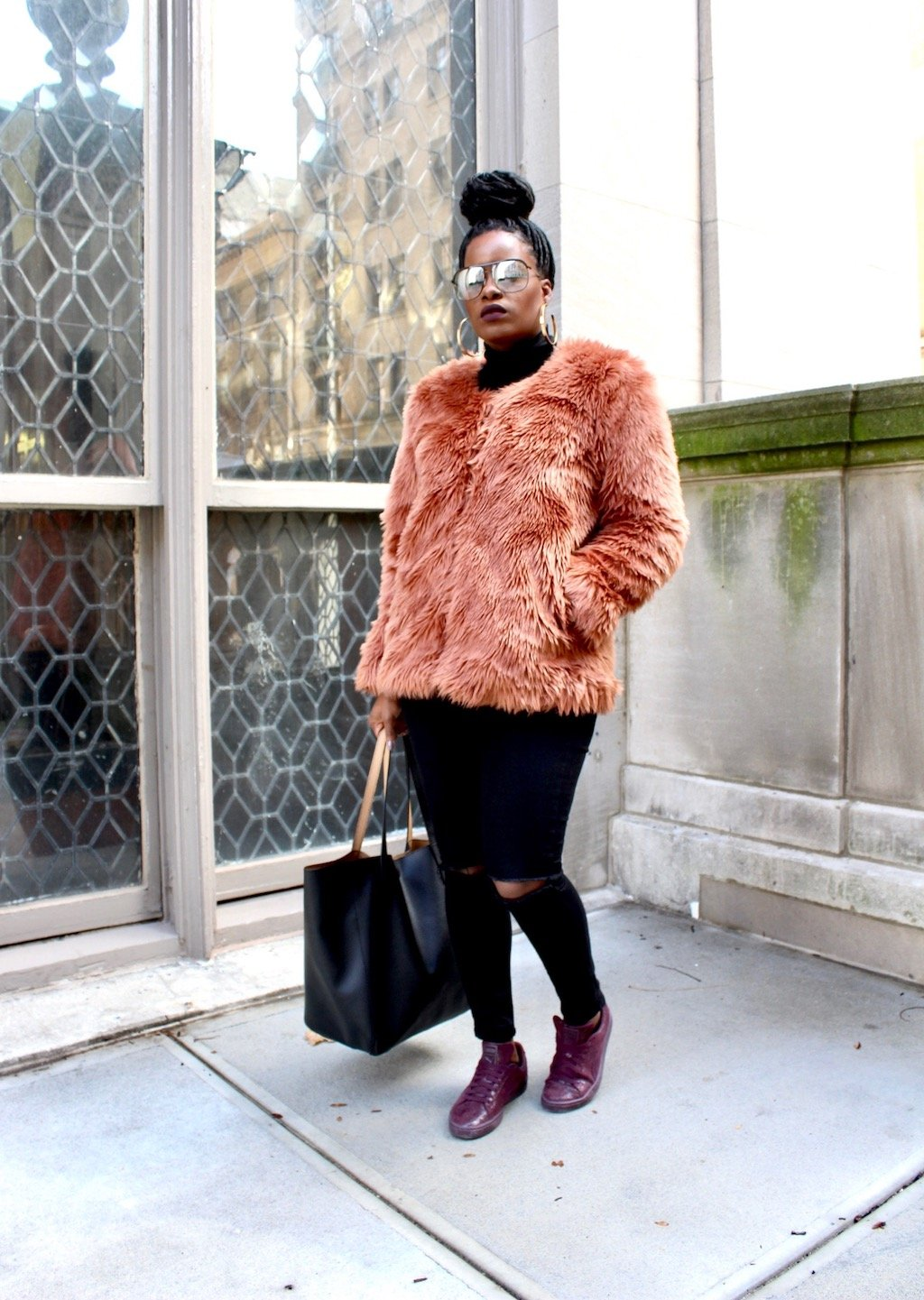 Comfy Yet Chic NYFW Look