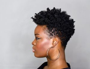 Tapered Cut Tutorial on 4C hair