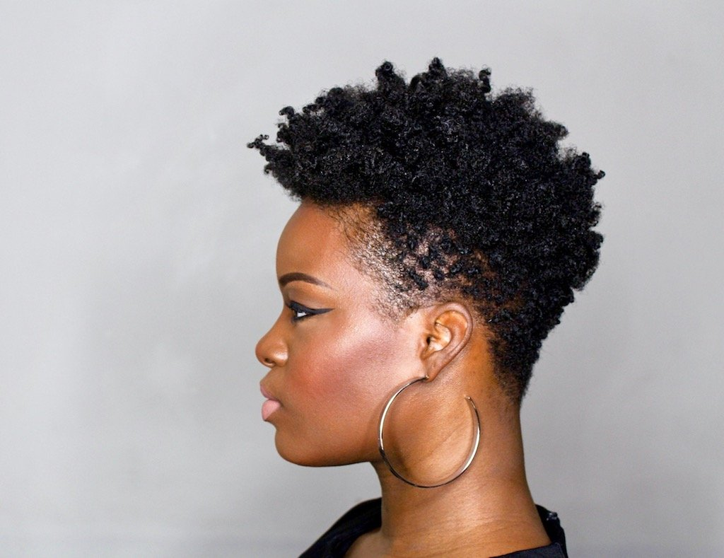 Diy Tapered Cut Tutorial On 4c Natural Hair Step By Step