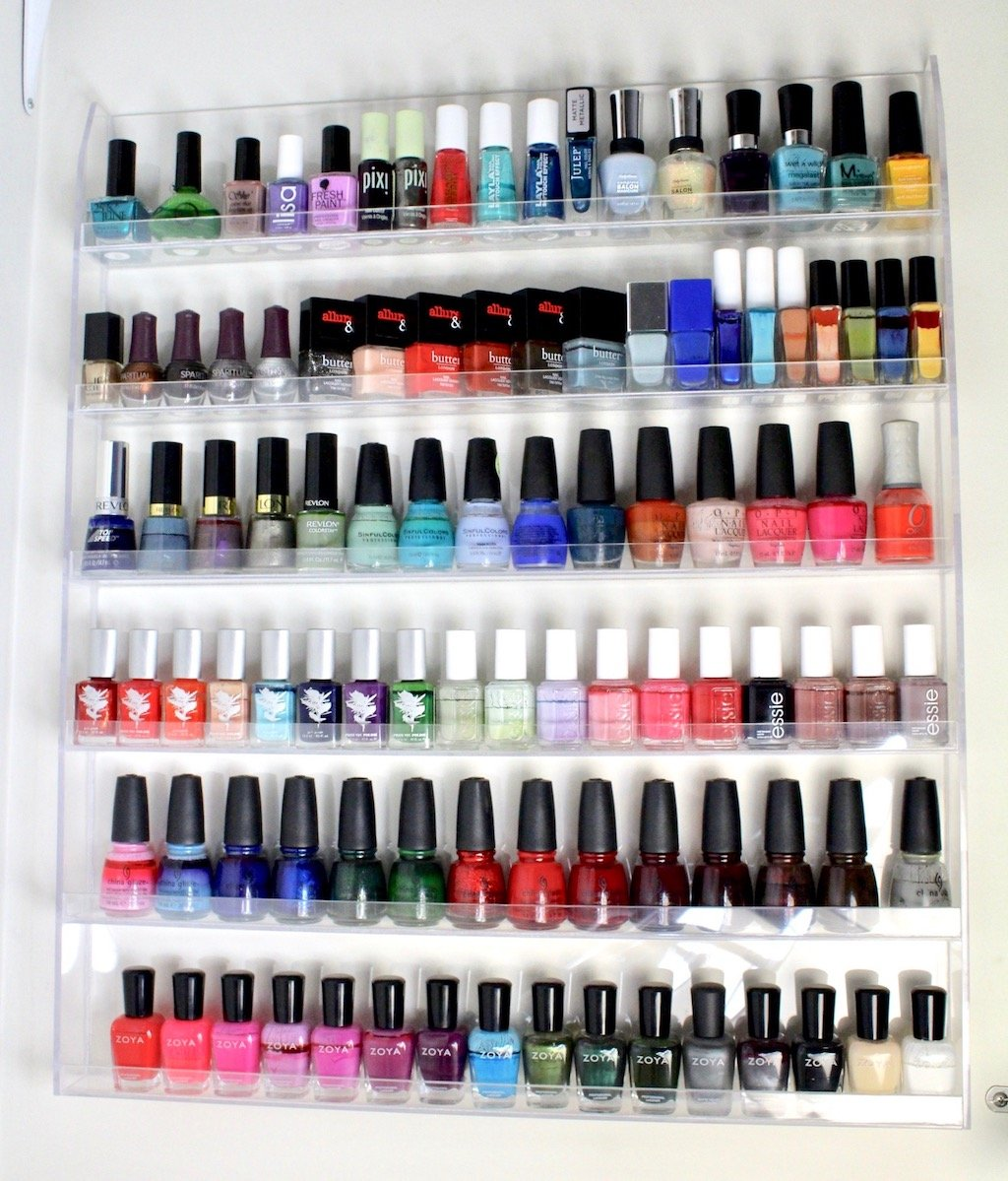 Nail Polish Storage & Organization