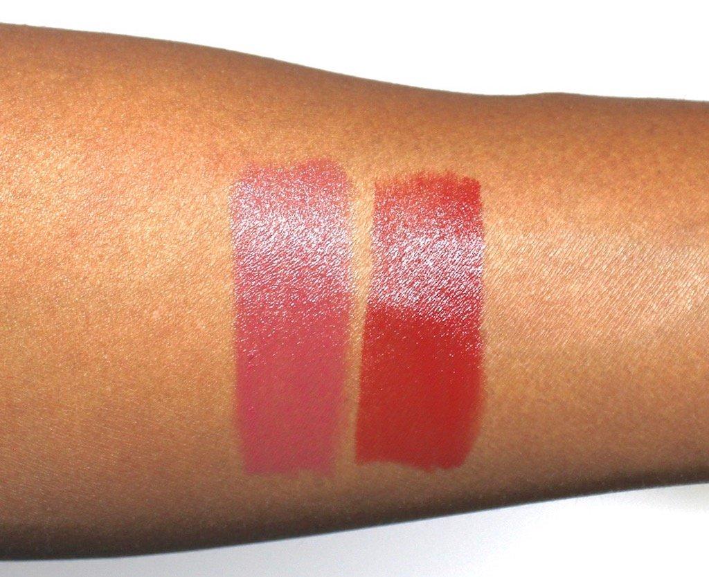 L'oreal Colour Riche Lipstick Swatches 590, 892