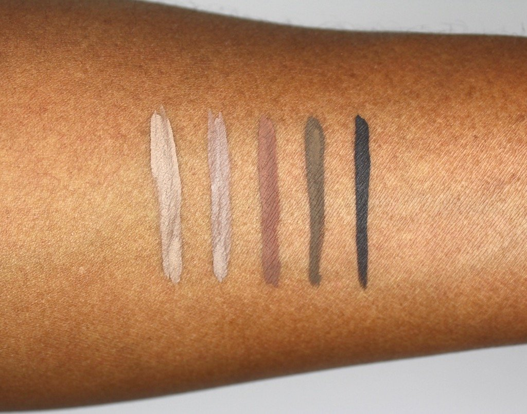Make Up For Ever Brow Liner Swatches