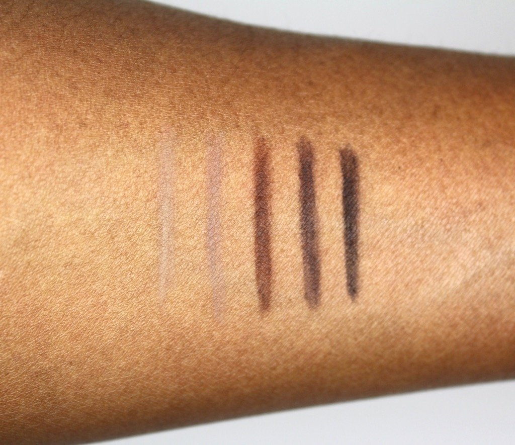 Make Up For Ever Brow Pencil Swatches