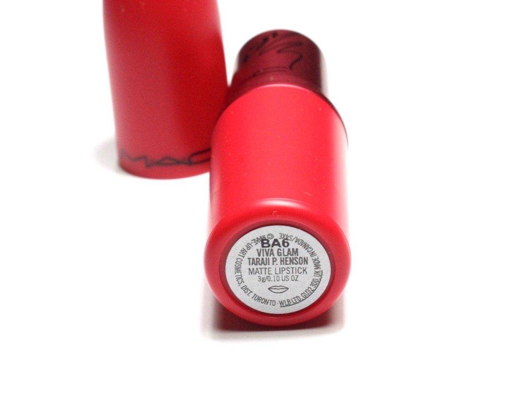 MAC Viva Glam Taraji Lipstick