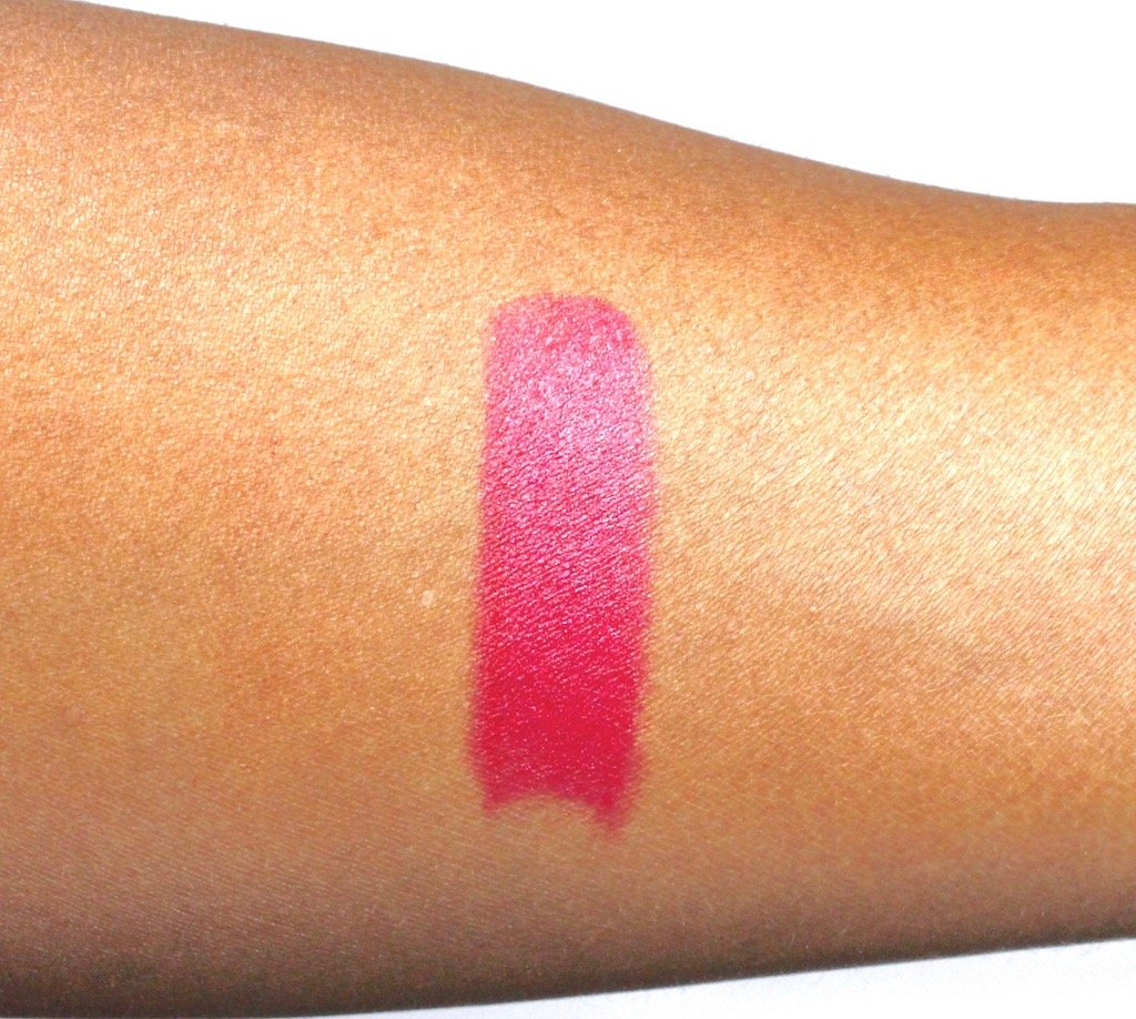MAC Viva Glam Taraji Lipstick Swatch on Dark Skin