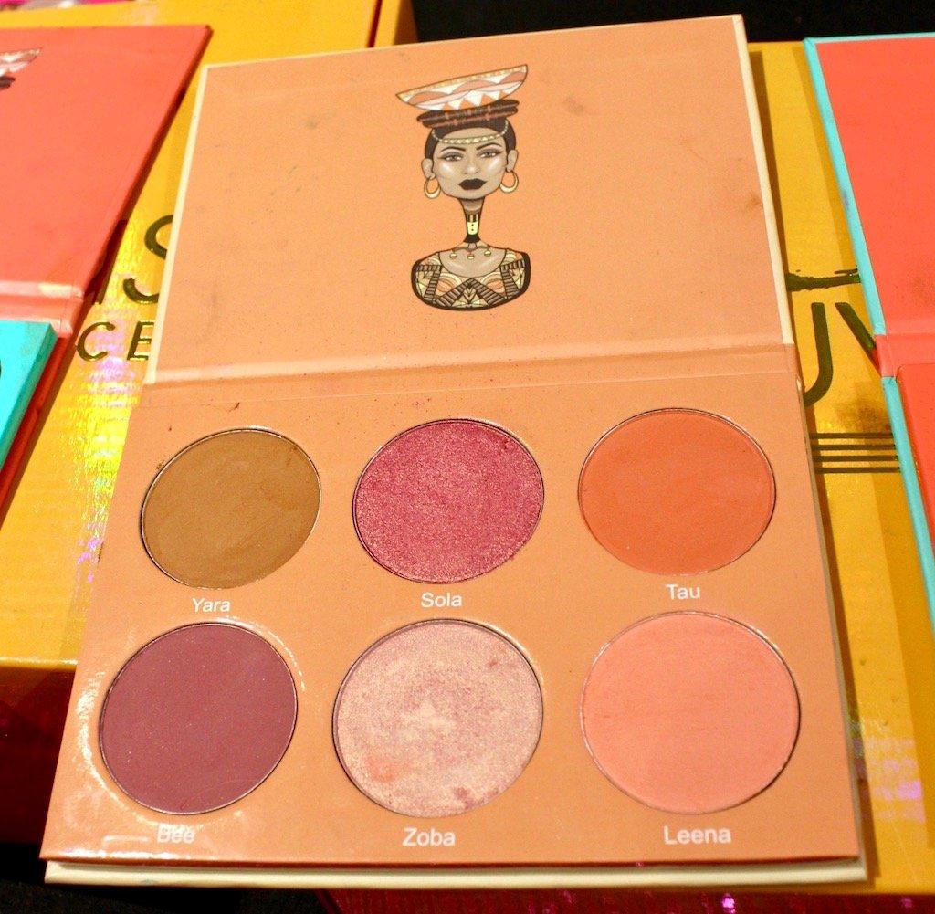Juvia's Place Saharan Blush Palette Vol 2