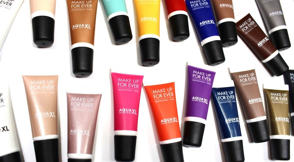 MUFE Aqua XL Color Paints