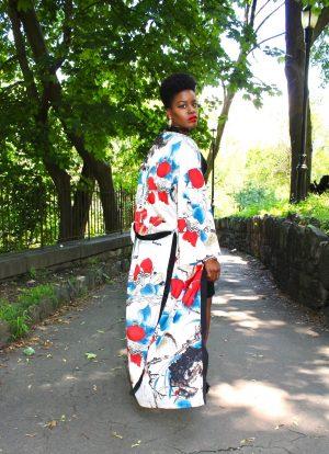 How To Wear A Maxi Kimono