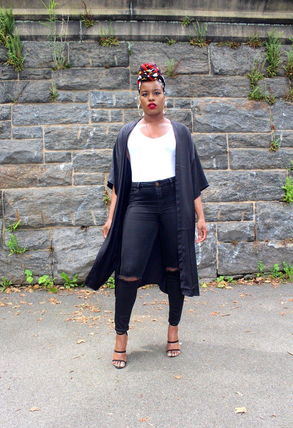 Summer Style Staples Headwraps & Kimonos