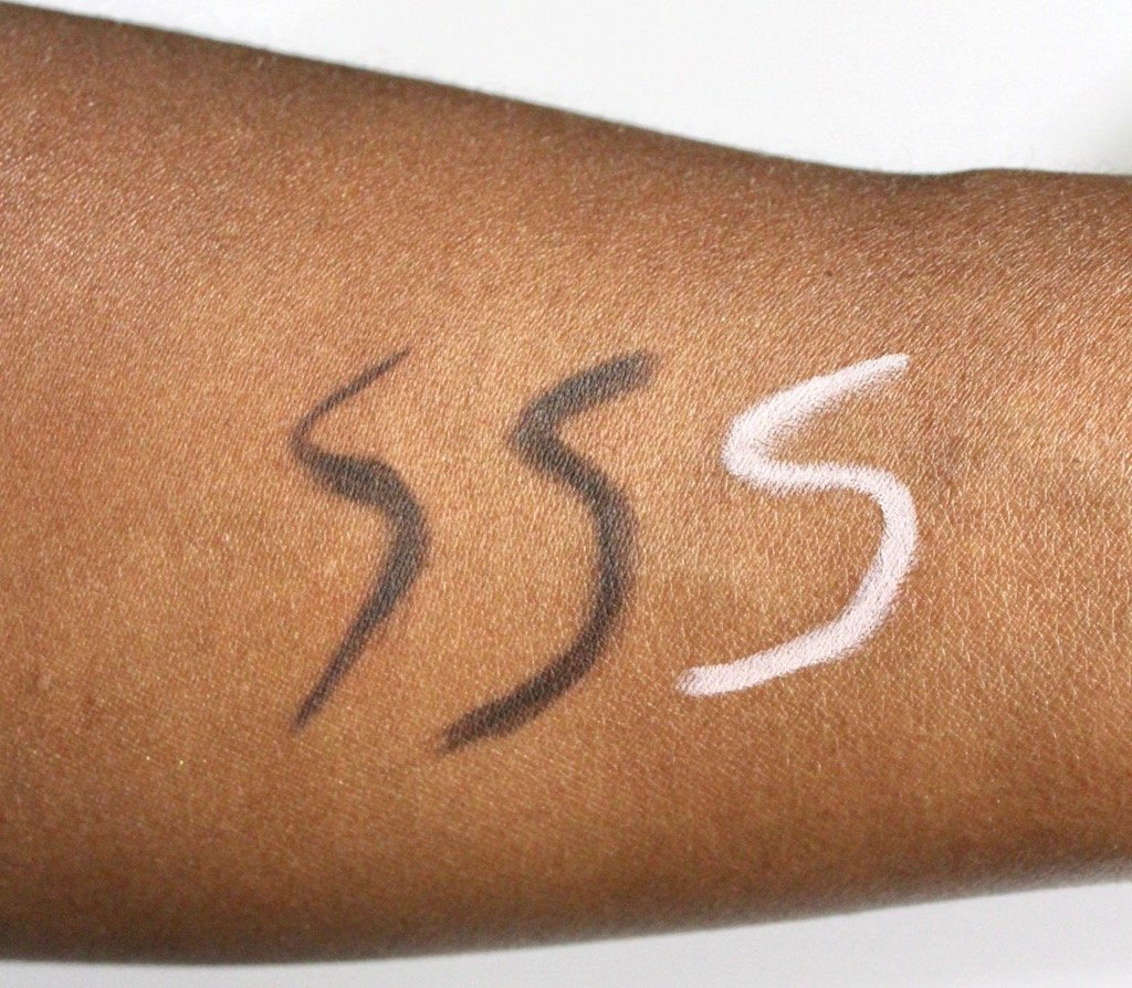 Benefit Precisely My Brow Pencil #6, Goof Proof Brow Pencil #6 and Highbrow Swatches