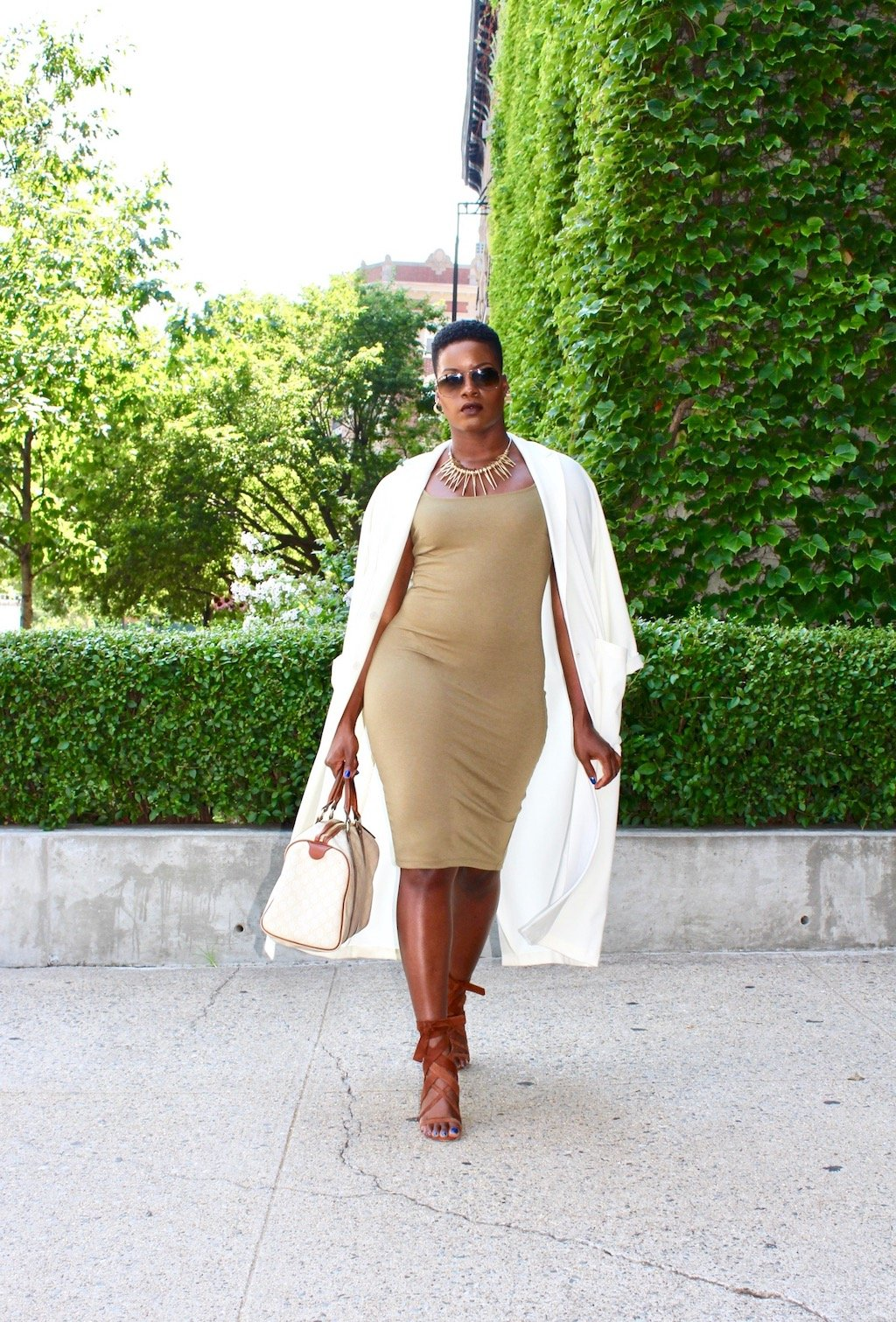How To Style A Cream Duster