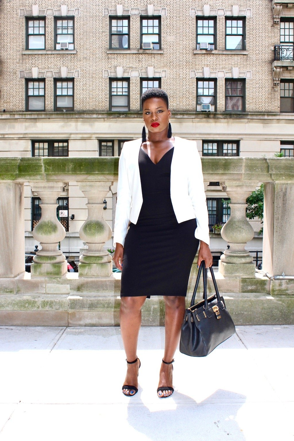 how to take a little black dress from work to play