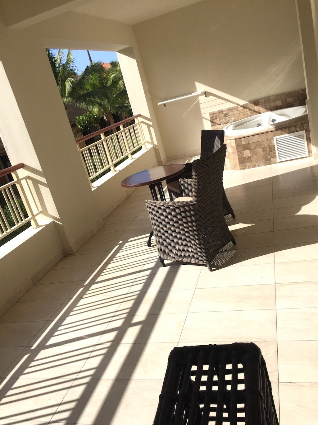 Majestic Mirage Punta Cana One Bedroom Suite Balcony with Jacuzzi