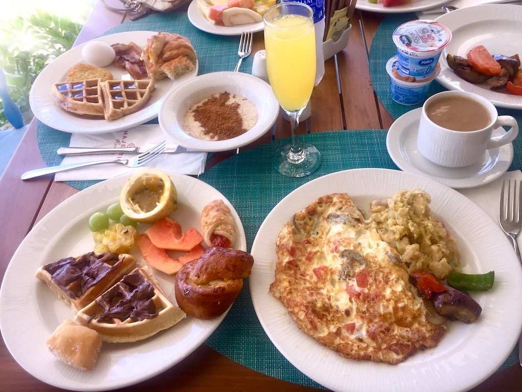 Majestic Mirage Seaside Restaurant Breakfast