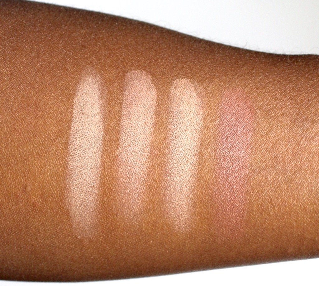 Make Up For Ever Sculpting Artist Face Color Powders Swatches