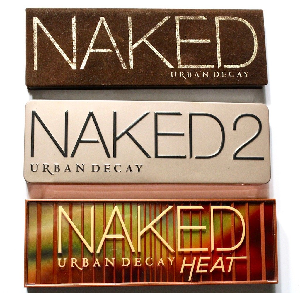 urban decay naked heat palettes