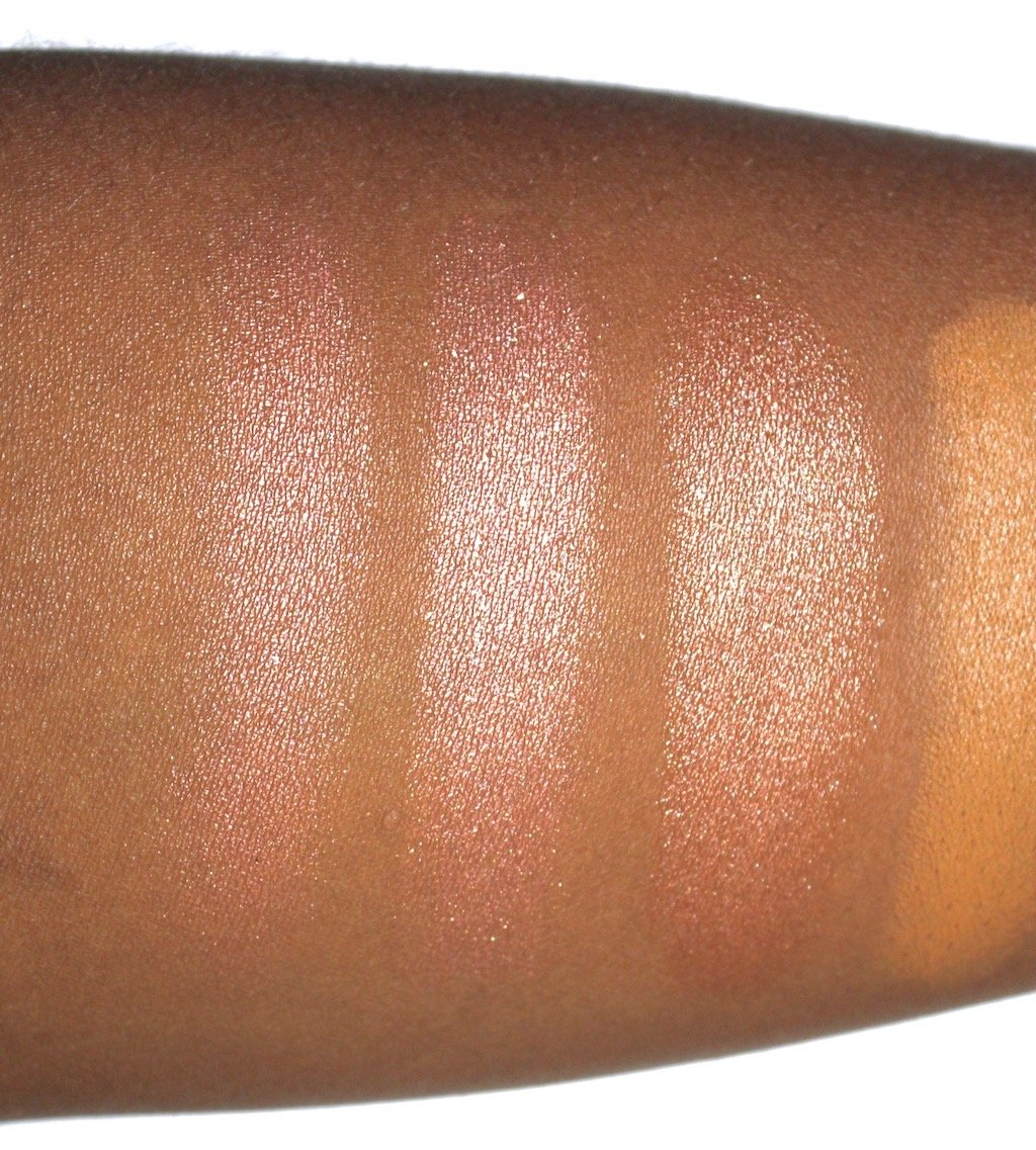 Fenty Beauty Killawatt Duo Ginger Binge/ Moscow Mule Swatch