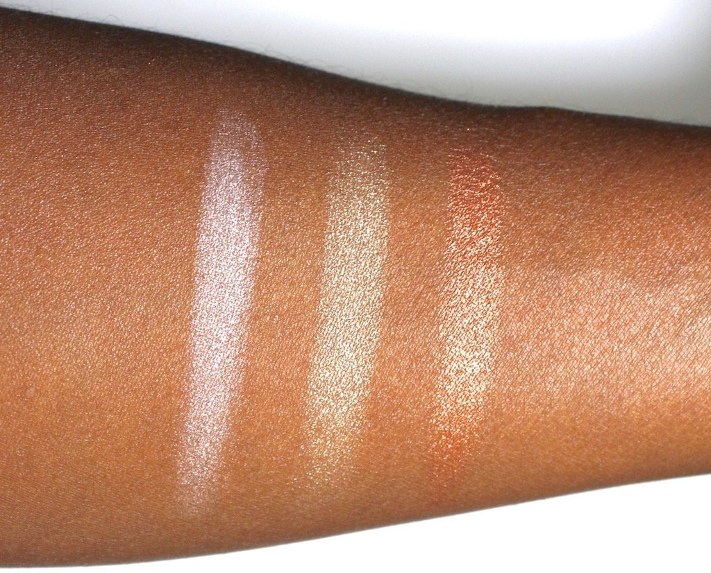 Make Up For Ever Highlighting Artist Face Color Powders Swatches