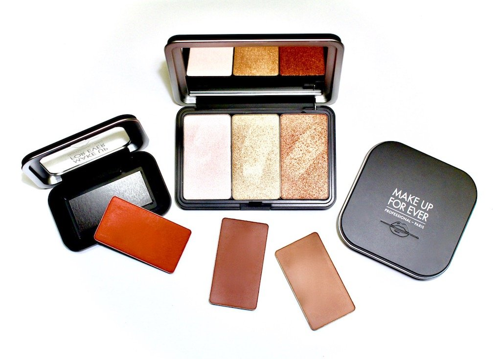 Make Up For Ever Artist Face Color Powders and Refillable Palette