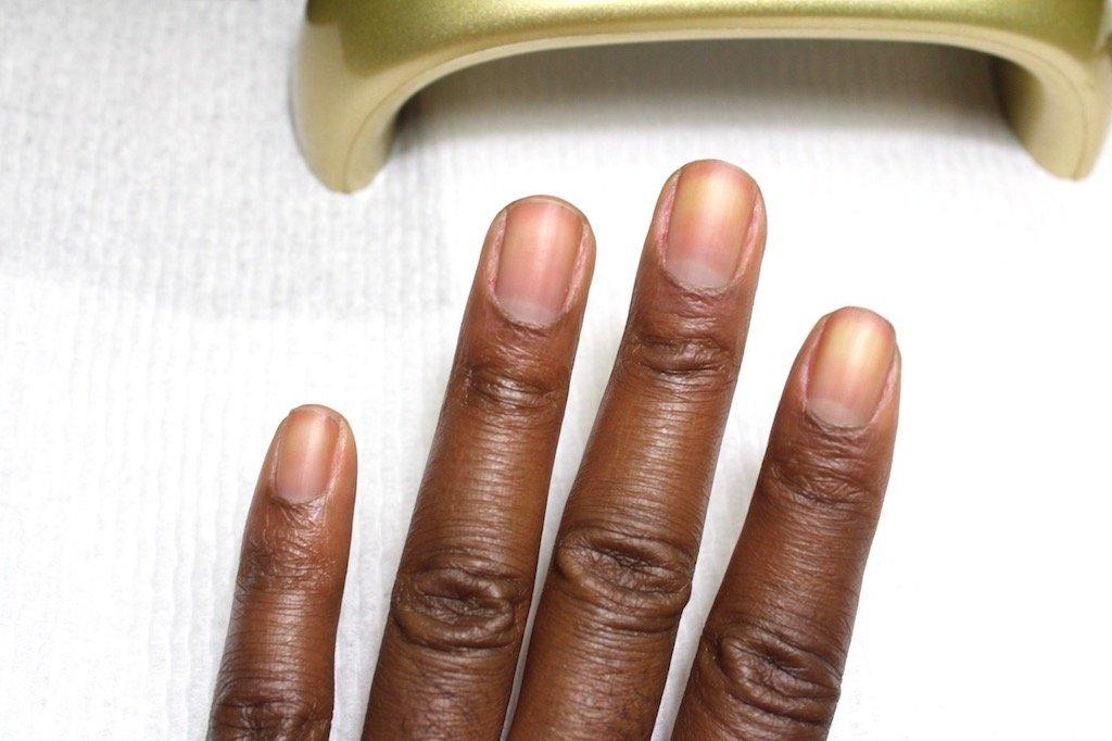 DIY Gel Manicure Prep