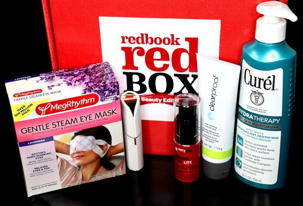 Fal 2017 RedBook Red Beauty Box