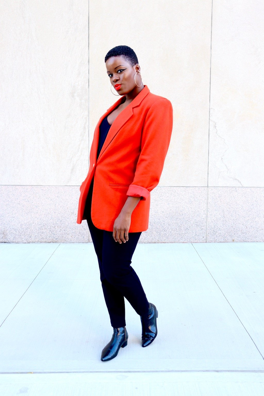 How To Style A Vintage Blazer