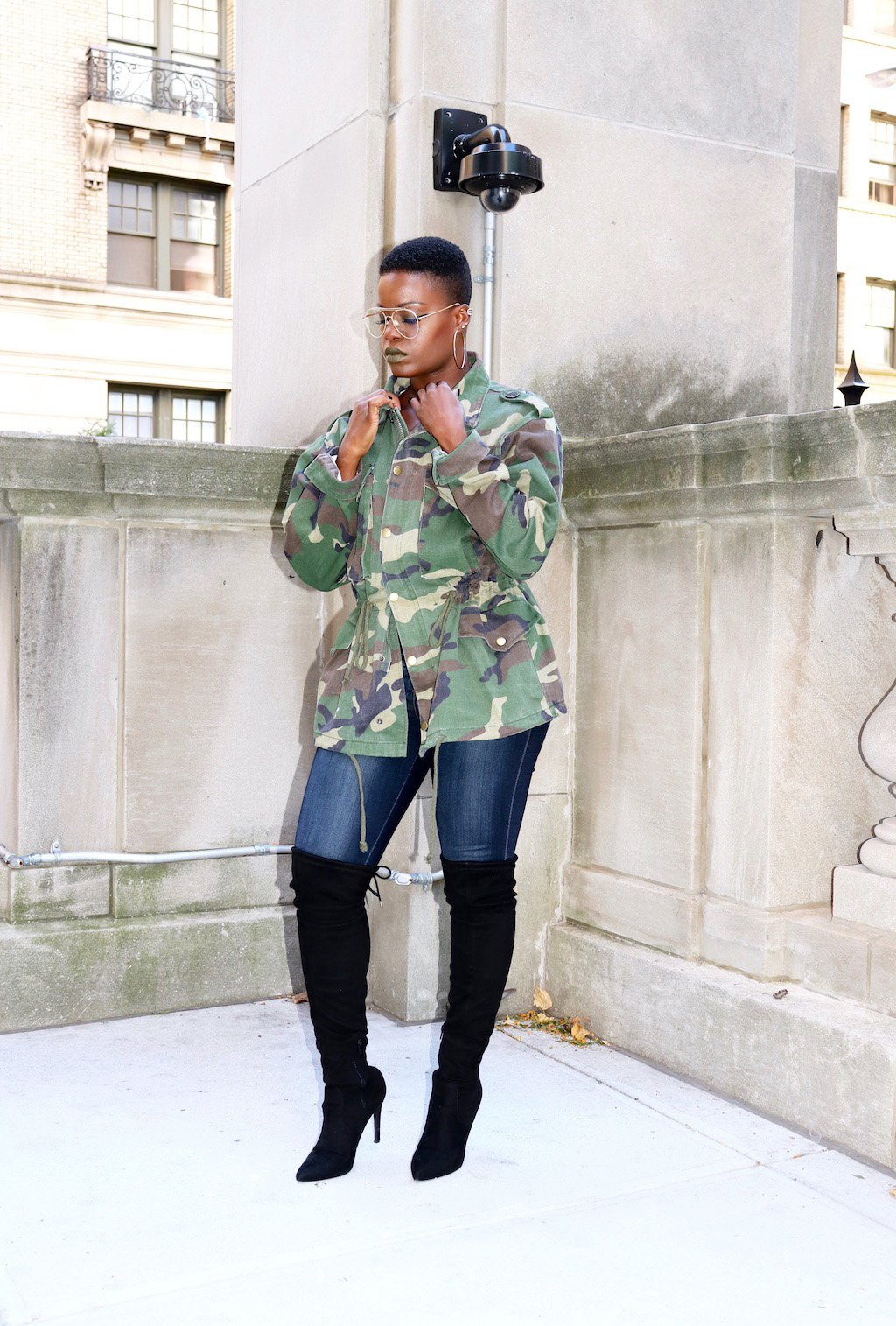 Fashion Nova Camo Jacket