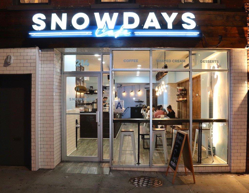 Snowdays Cafe Brooklyn