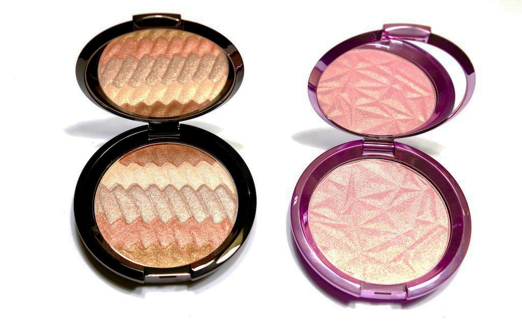 Becca Gradient Glow & Lilac Geode Pressed Highlighters