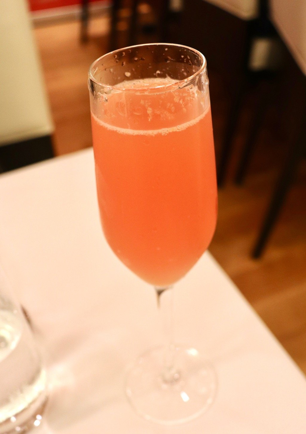 Fig & Olive Blood Orange Mimosa