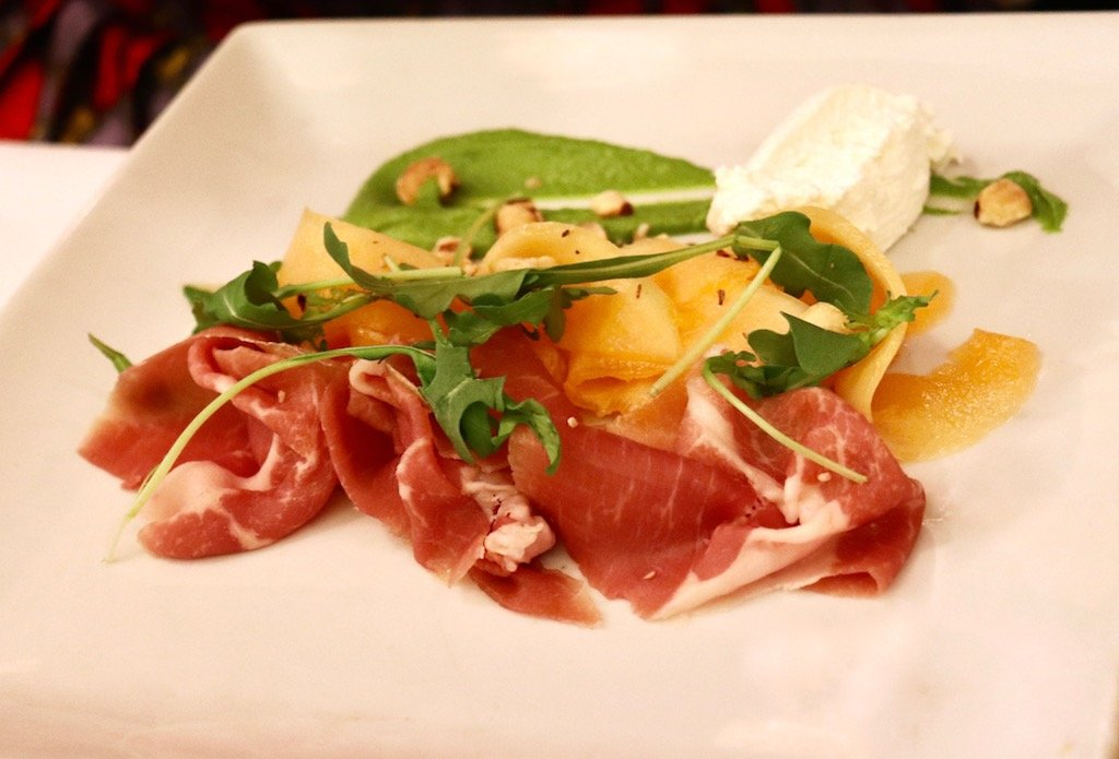 Fig & Olive Prosciutto di Parma and Melon