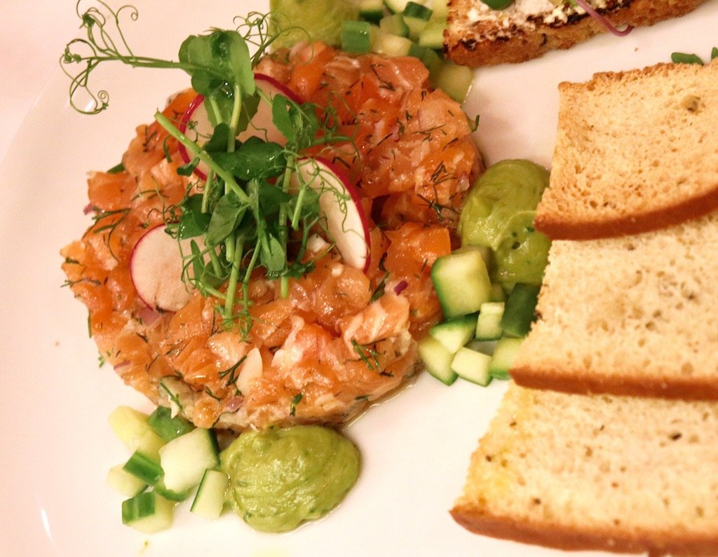 Fig & Olive Slamon Tartare