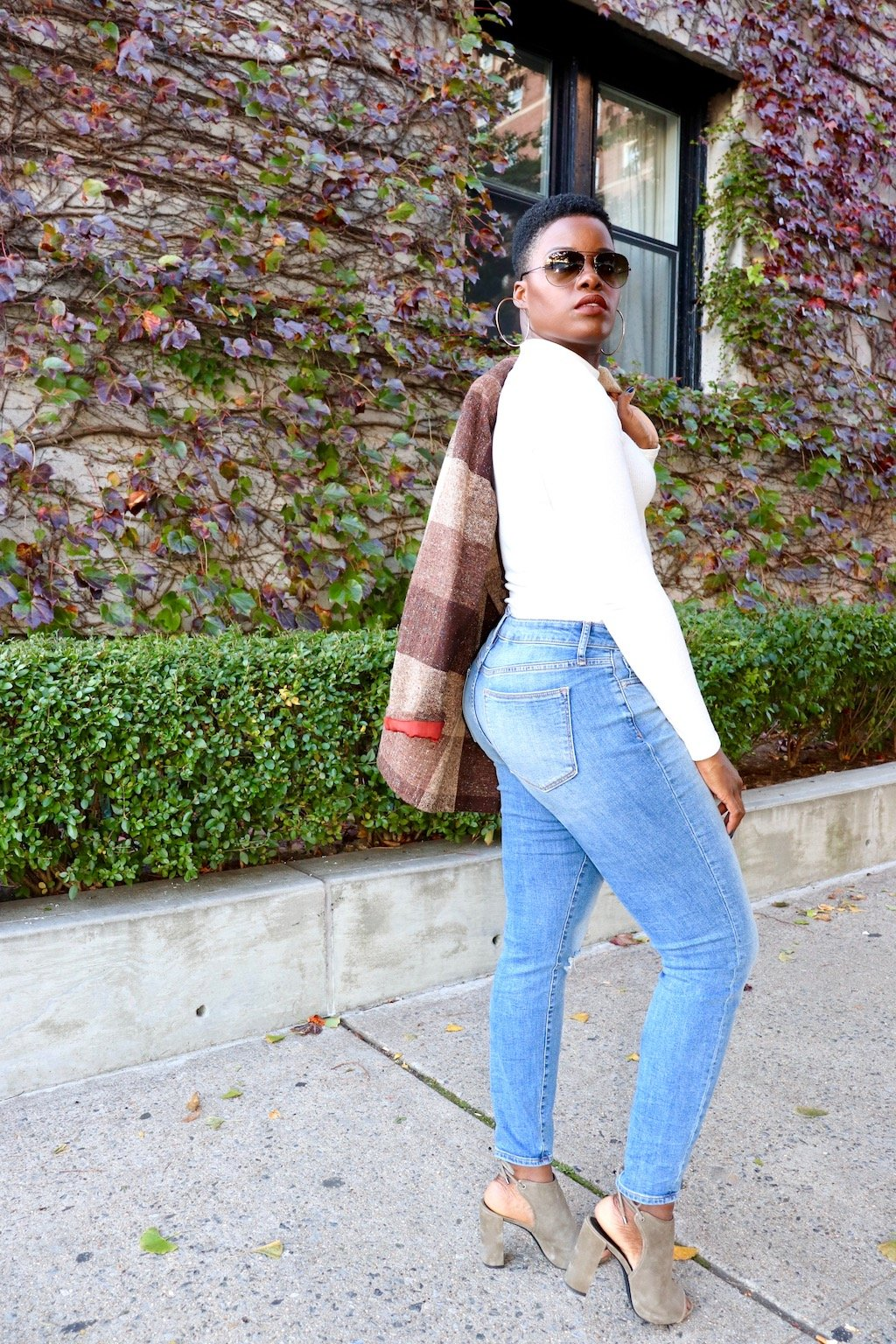 GAP Curvy True Skinny Jeans Outfit