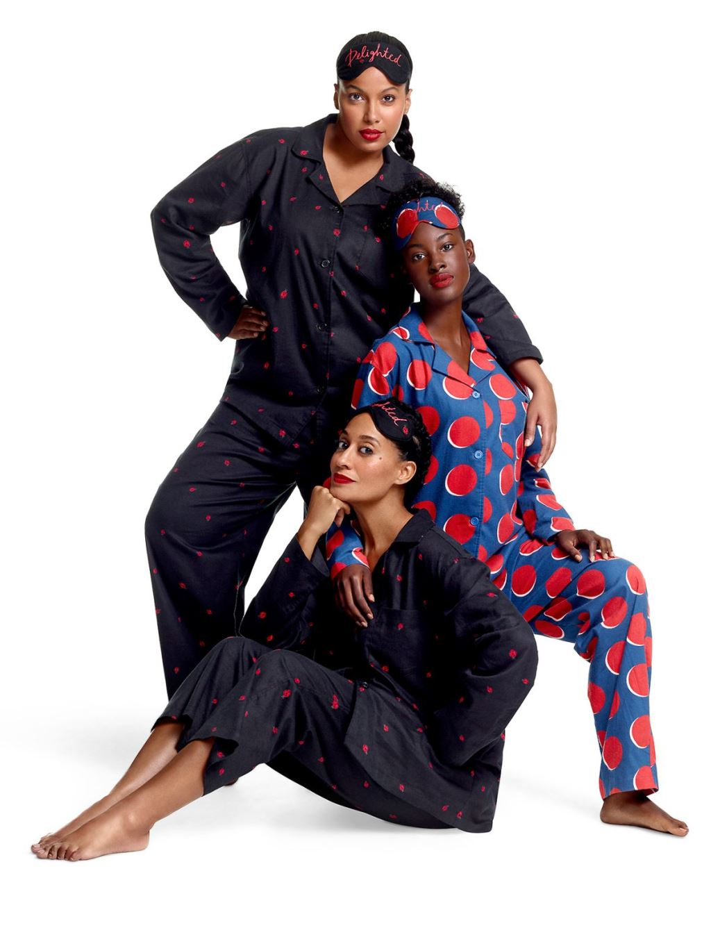 Tracee Ellis Ross x JC Penney Holiday Collection Pajamas