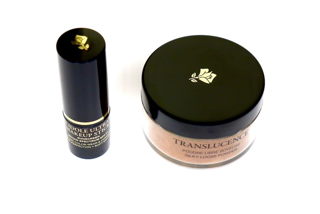 Lancome Teint Idole Ultra Longwear Foundation Stick & Translucence Silky Loose Powder