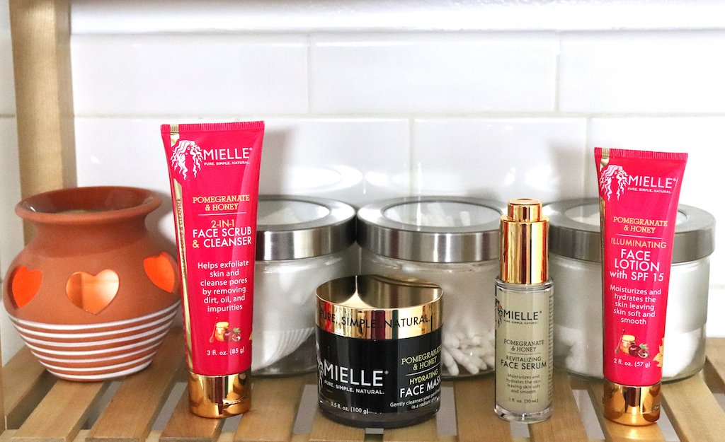 Mielle Pomegranate & Honey Skincare Collection Review