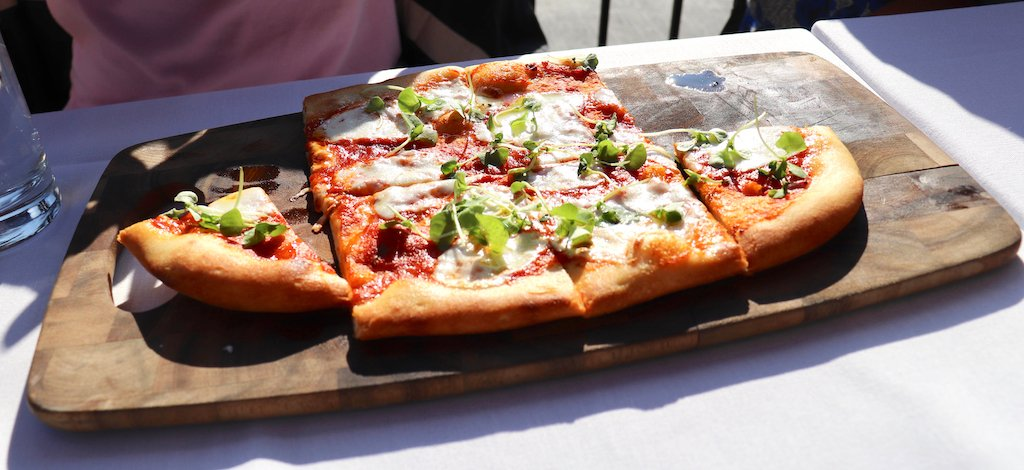 Brunch Washington D.C. Flatbread Pizza