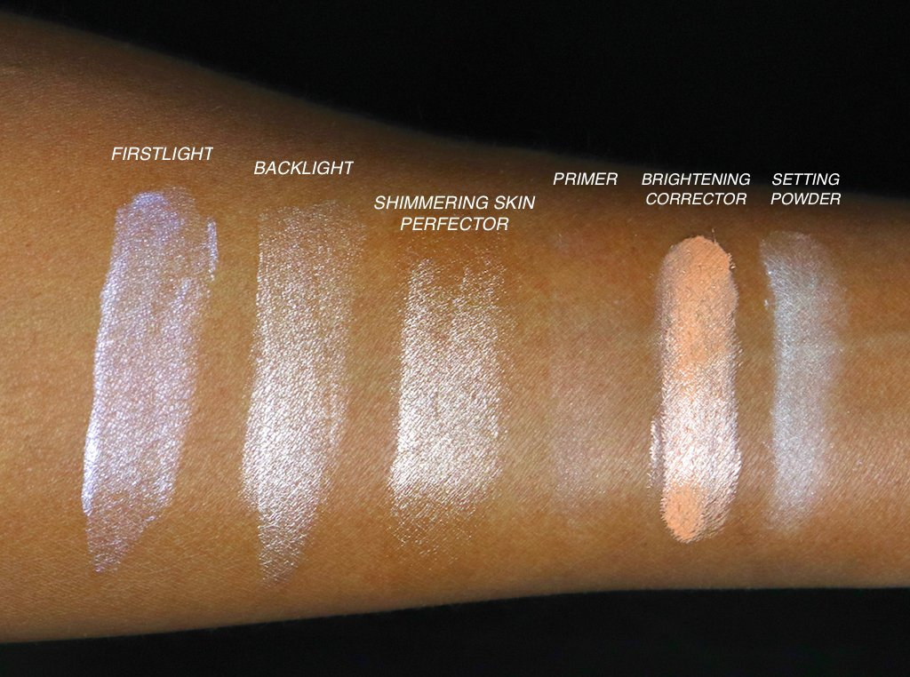 Becca Bright Eyes Collection Swatches