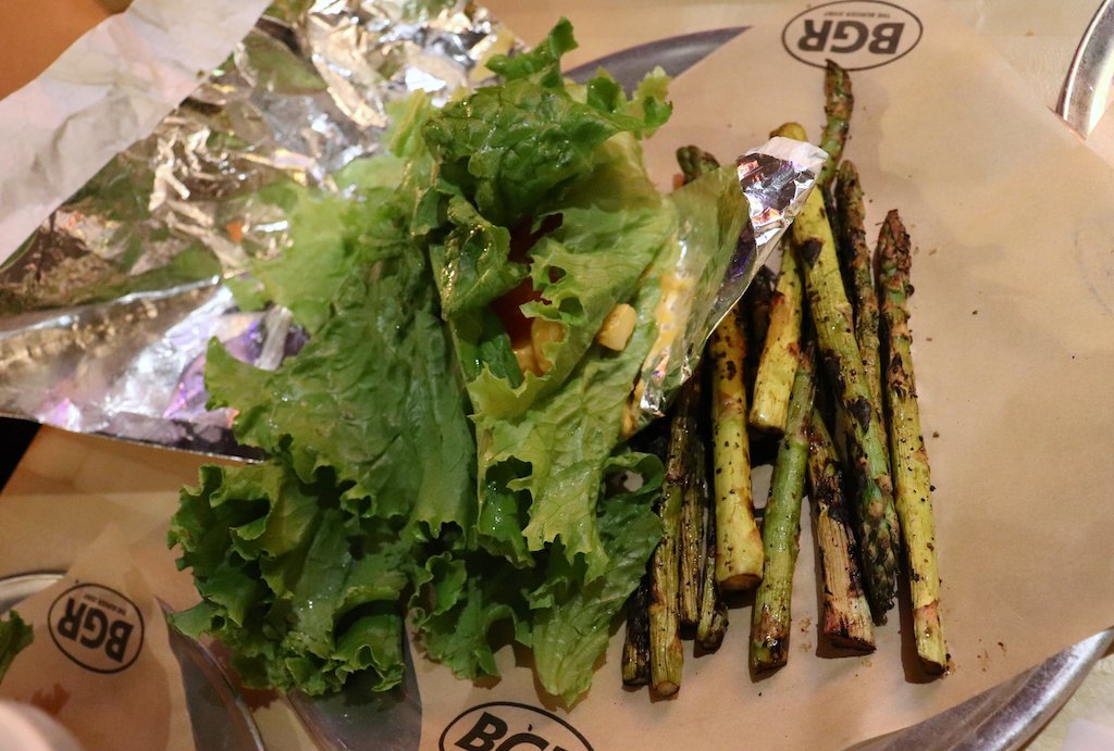 BGR The Burger Joint Lettuce Wrap