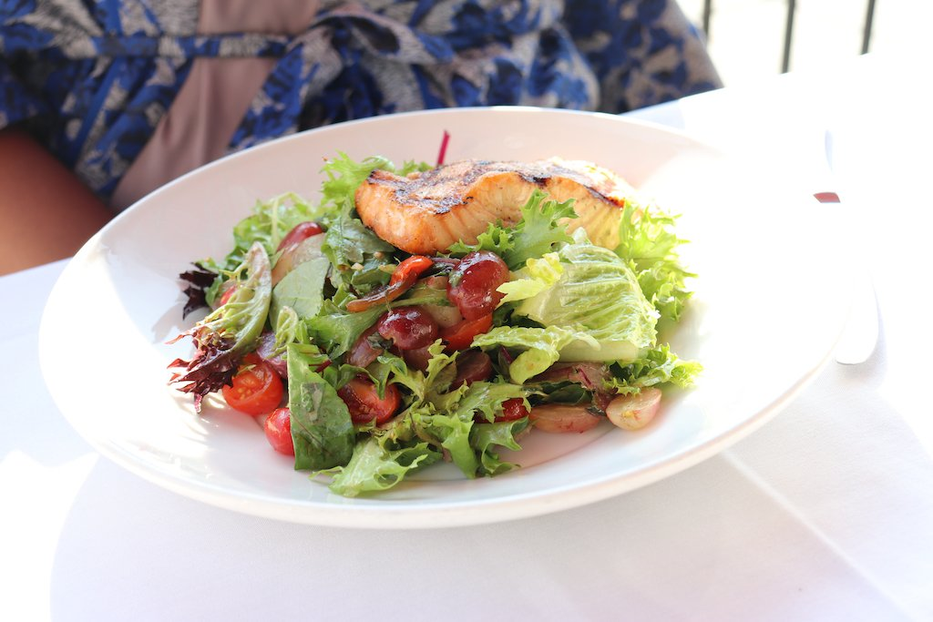 Brunch Washington D.C. Salmon Salad