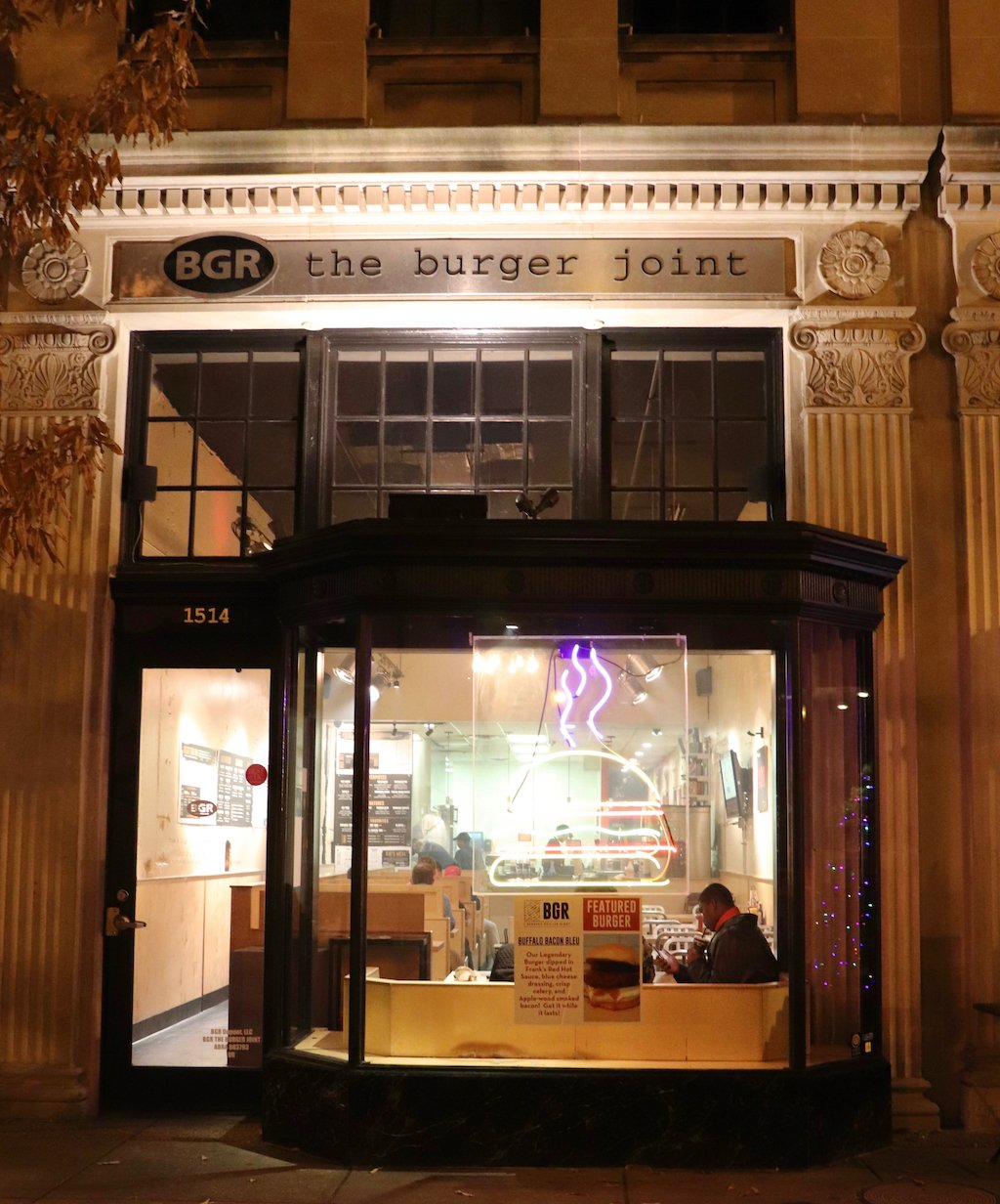 BGR The Burger Joint Washington D.C. Review