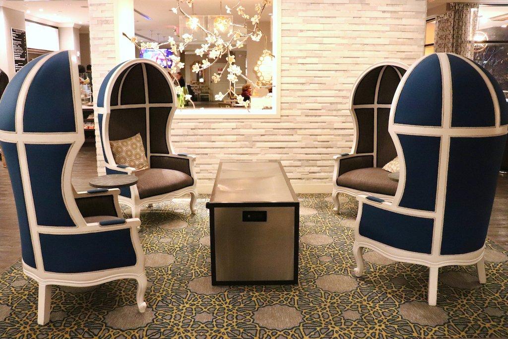 Embassy Row Hotel Lobby Chairs