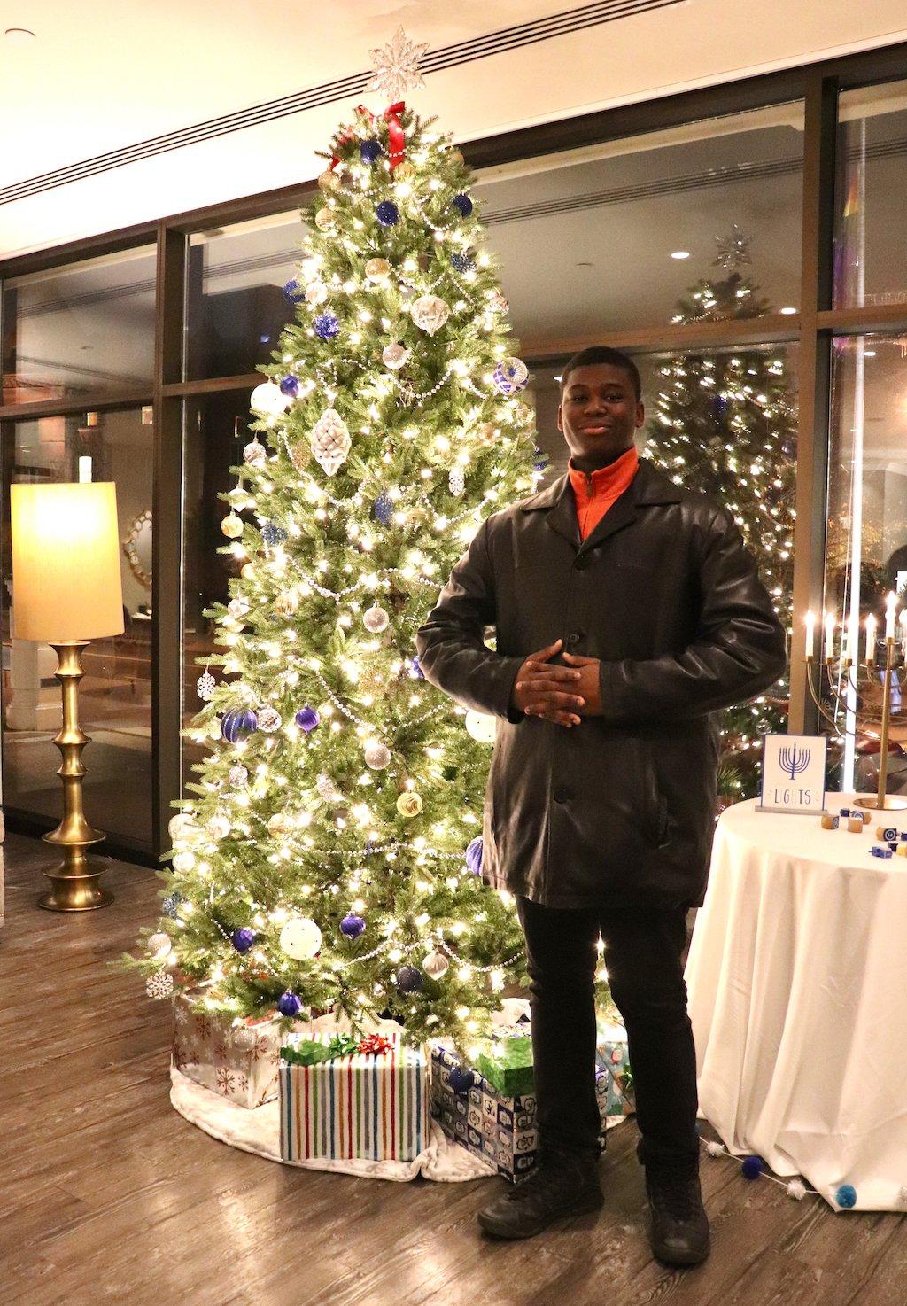 Embassy Row Hotel Christmas Decor