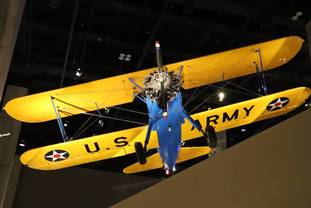 National Museum of African American History and Culture Tuskegee Institute Training Aircraft