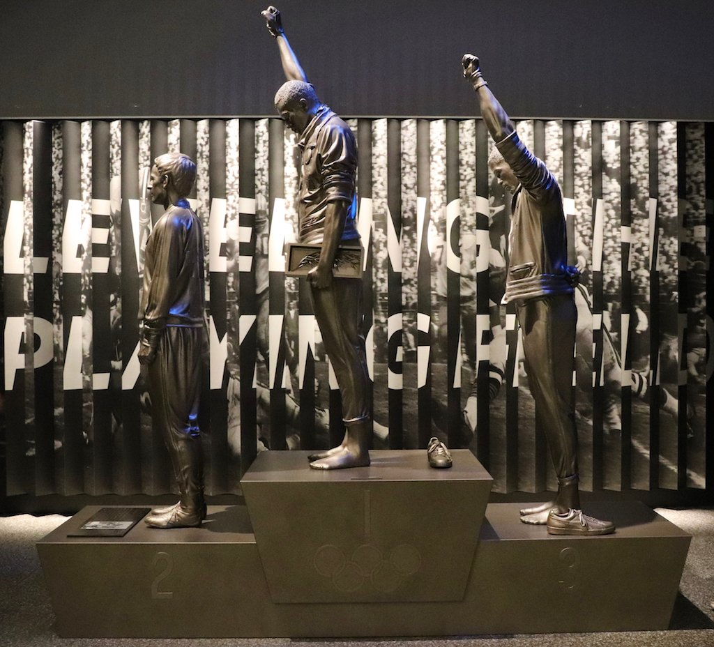 National Museum of African American History and Culture 1968 Olympics Black Power Tribute