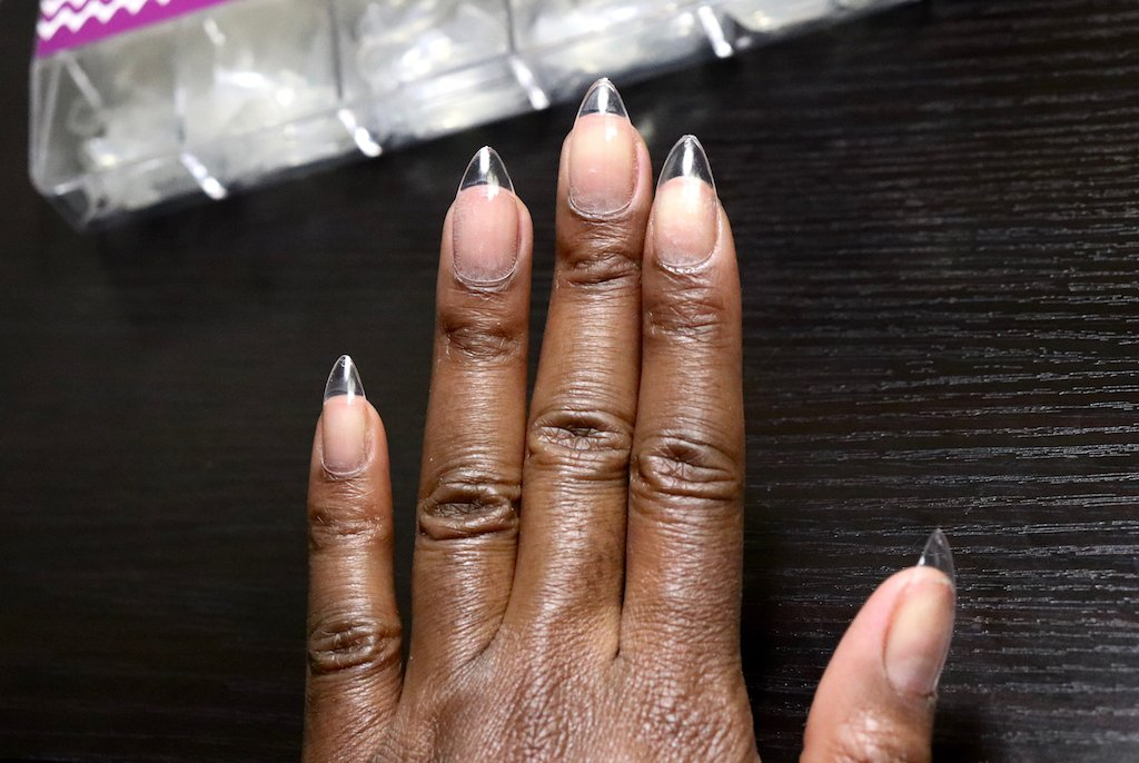 EC Basket Press On Stiletto Nails