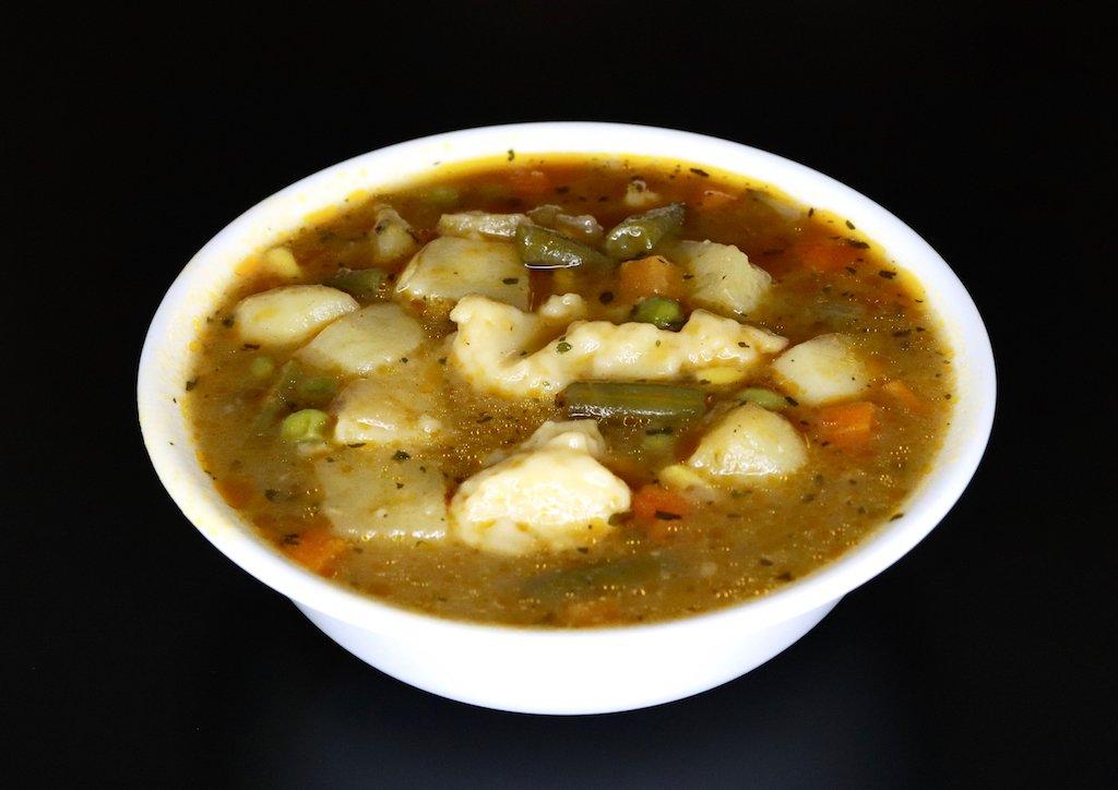 Vegetable Dumpling Soup Recipe