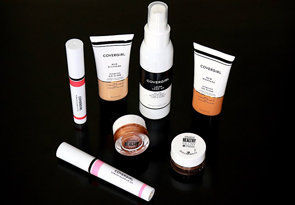 Drugstore Beauty CoverGirl Vitalist Healthy Glow Collection Review