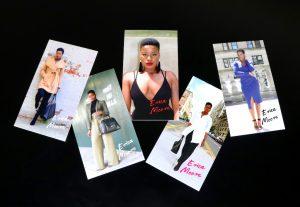 Erica Moore @Glammzmore Business Card