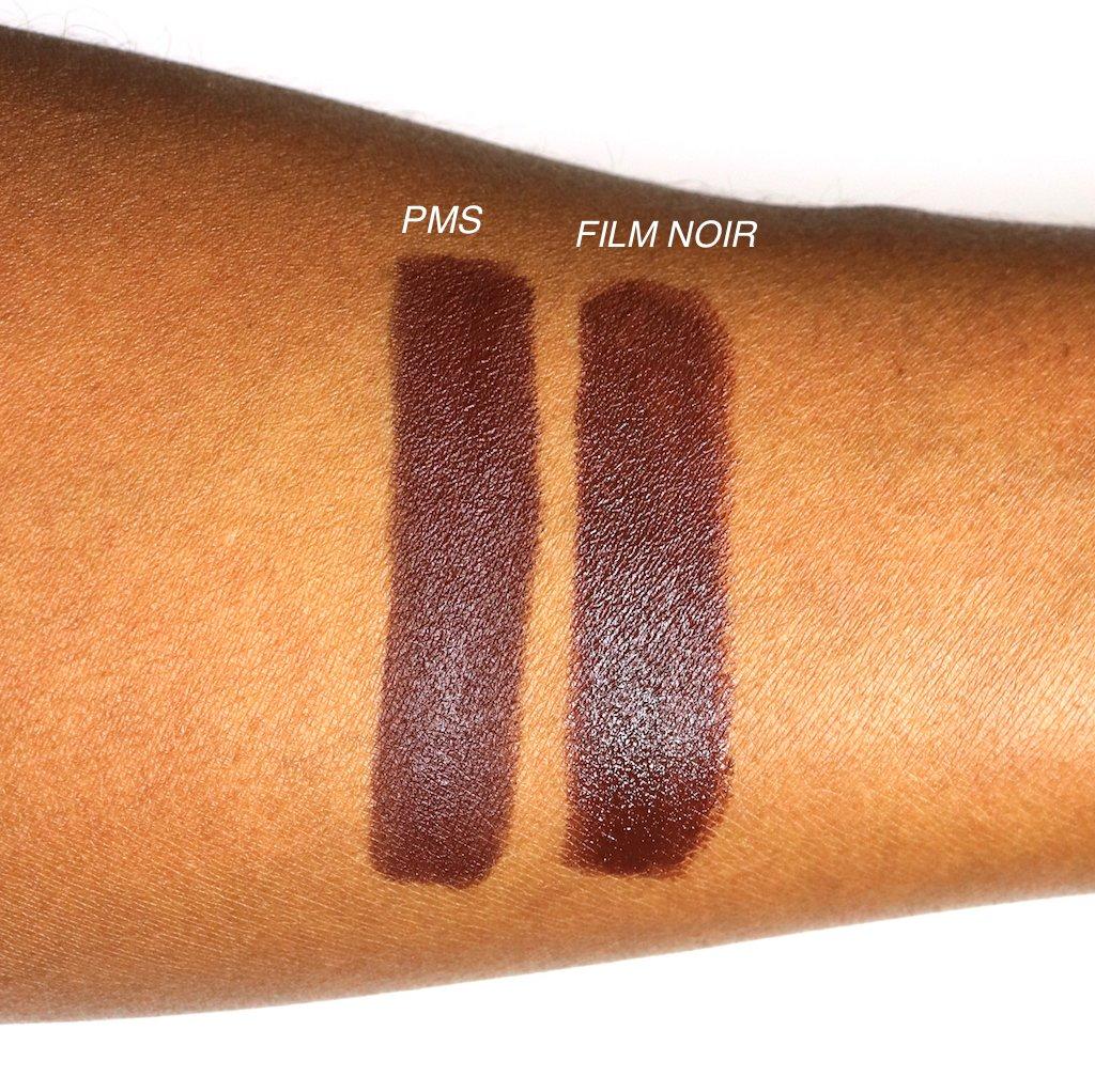 Fenty Beauty PMS Mattemoiselle Plush Matte Lipstick Dupe Mac Film Noir